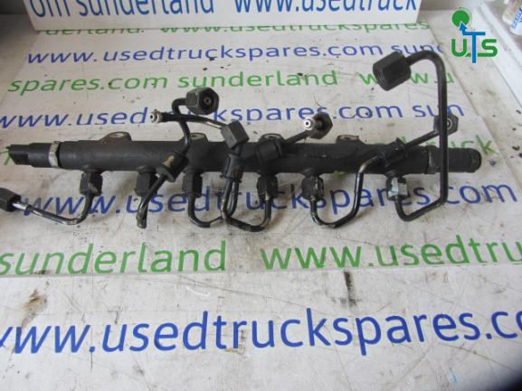 FUEL RAIL + PIPES TO SUIT DAF CF/LF OR DENNIS PACCAR ENGINE 250BHP 6  CYLINDER