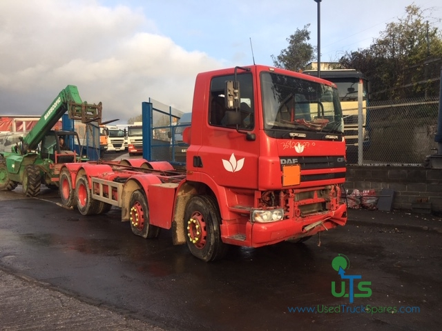 BREAKING - DAF CF85 380 CHASSIS CAB 2005