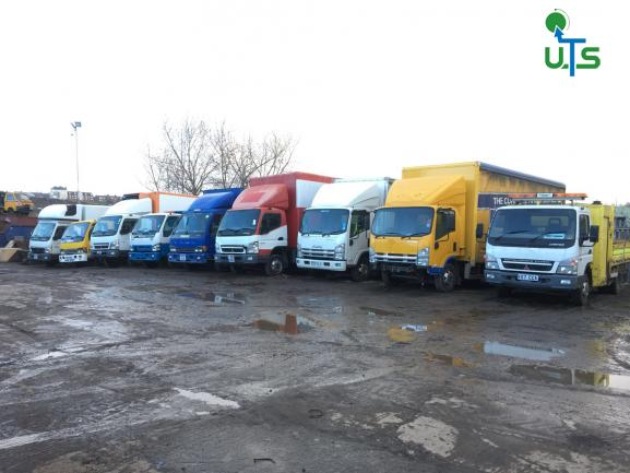 Isuzu and Mitsubishi trucks breaking for spares