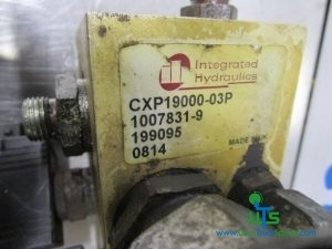 SCHMIDT SWINGO 200 INTEGRATED HYDRAULICS SOLENOID VALVE BLOCK P/NO CXP1900003P