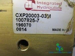 SCHMIDT SWINGO 200 SPEED VALVE P/NO CXP20003-03M