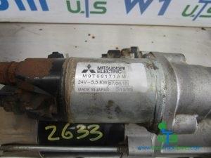 MERCEDES AXOR 2633 (OM926) STARTER MOTOR P/NO M9T66171AM