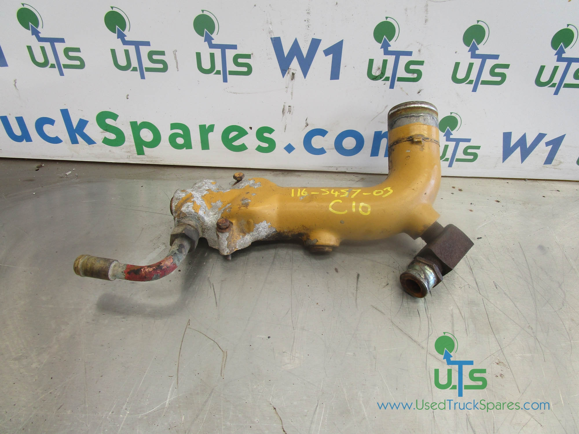 CAT C10 / C12 WATER PUMP PIPE P/NO 116-5457-03