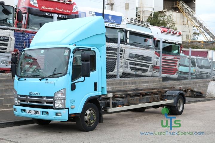 BREAKING - ISUZU N75 190 4X2 CHASSIS CAB