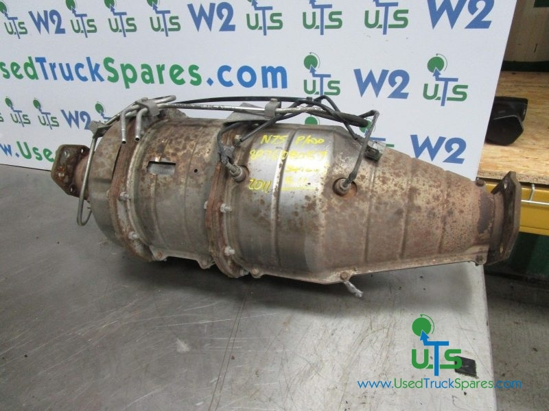 ISUZU N75 190 DPF / CATALYST / EXHAUST P/NO 897608057