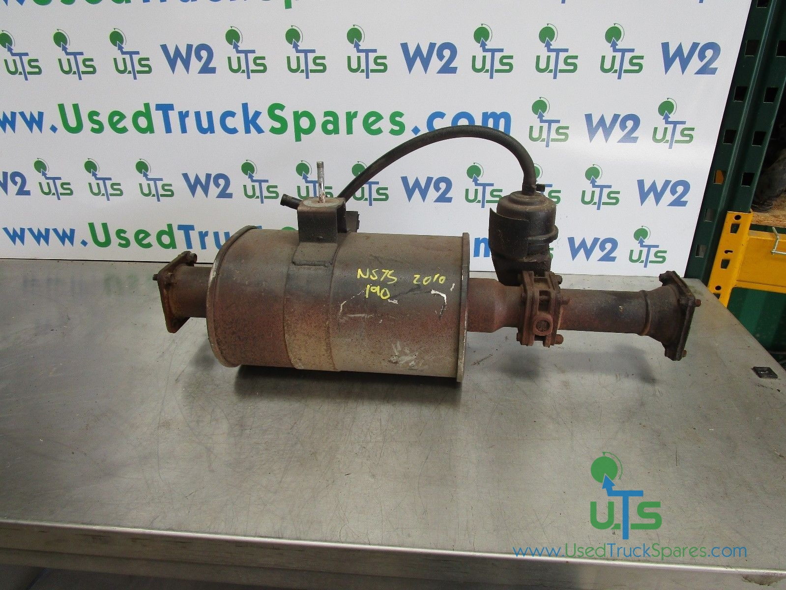 ISUZU N75 190 EXHAUST SILENCER AND PIPE