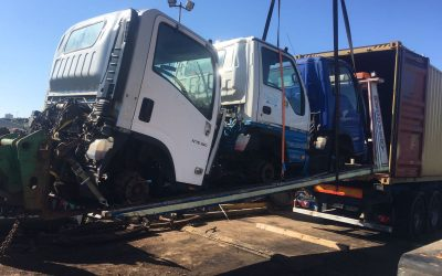 Container of Isuzu & Mitsubishi to the Caribbean