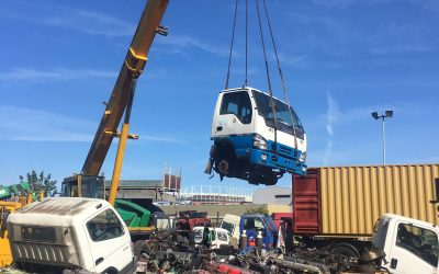 Truck Cabs dismantled ready for Export