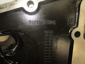 MAN TGL DO834 Front Timing Cover