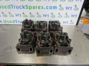 Scania 124 420 Cylinder Head