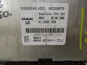 MAN TGL / TGM FFR UNIT ECU 81.25805.8056