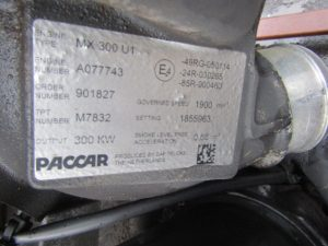 DAF PACCAR MX300 U1 ENGINE