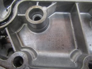 Mercedes 1829 OM906 Oil cooler housing 3200656/1412543